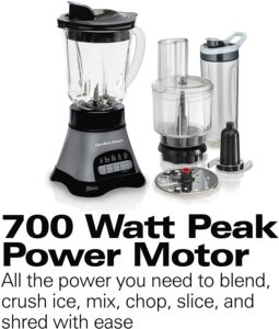 700 watt peak power blender