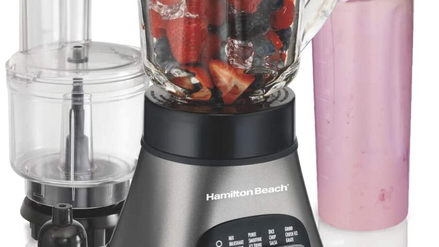 Hamilton Beach Wave Crusher Blender with Travel Jar