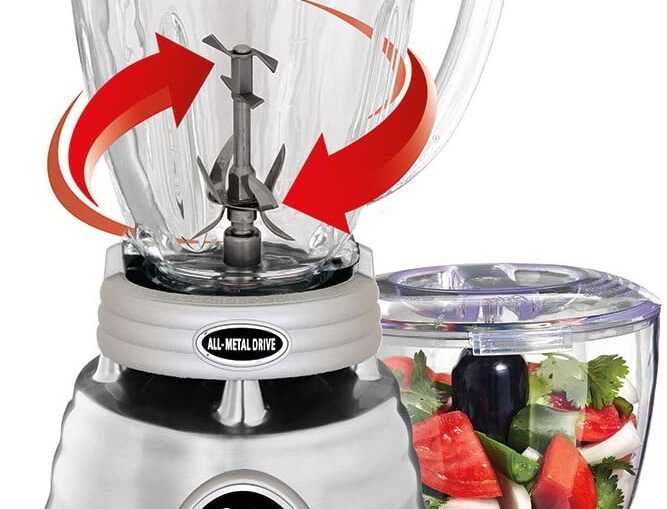 Oster Classic Series Whirlwind Blender Plus Food Chopper
