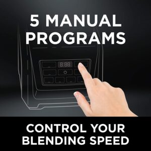 digital count down timer with 5 manual programs
