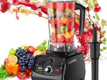 COLZER Professional Countertop Blender