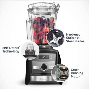 features of the Vitamix A3300 Ascent Series Blender