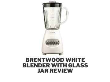Brentwood White Blender with Glass Jar Review