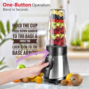 One-button action